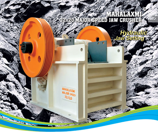 Mahalaxmi Major Speed Jaw / Stone Crusher 32x20