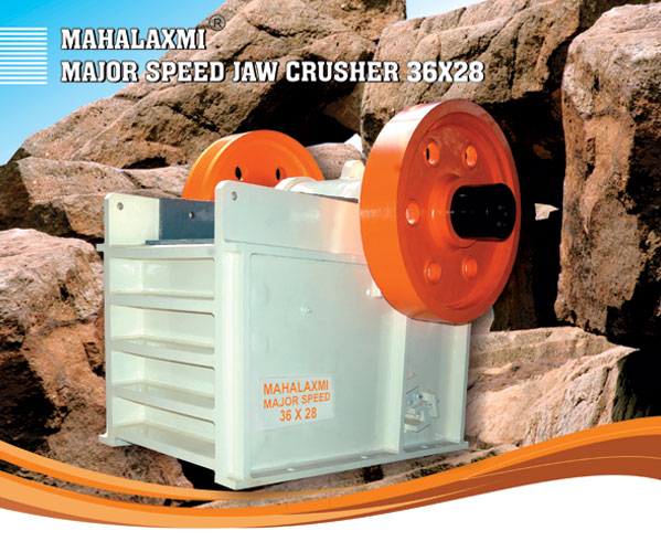 Mahalaxmi Major Speed Jaw / Stone Crusher 36x28