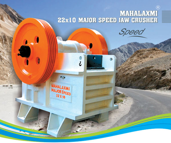 Mahalaxmi Major Speed Jaw / Stone Crusher 22x10