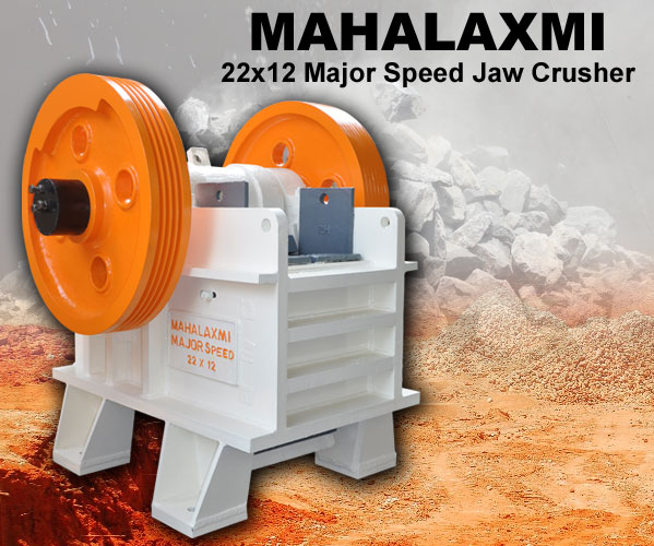 Mahalaxmi Major Speed Jaw / Stone Crusher 22x12