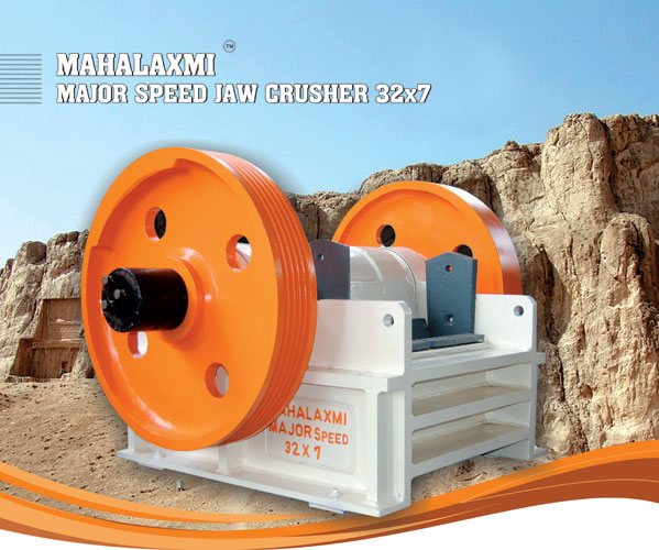 Mahalaxmi Major Speed Jaw / Stone Crusher 32x7